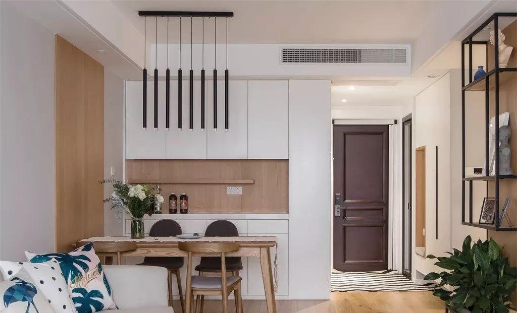 90平简约风格设计鉴赏 舒适自然的三居室