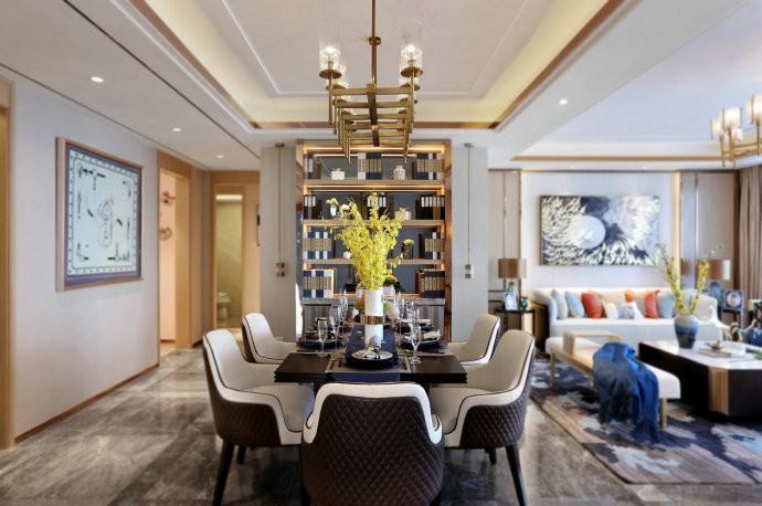 新中式风格 三居室