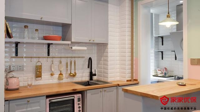 35平一室一厅小户型,装修完真满意