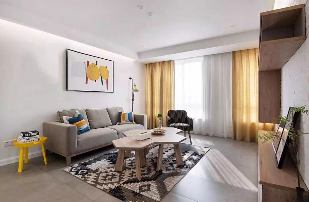 简约风格三居室设计案例 唯有简约最舒适