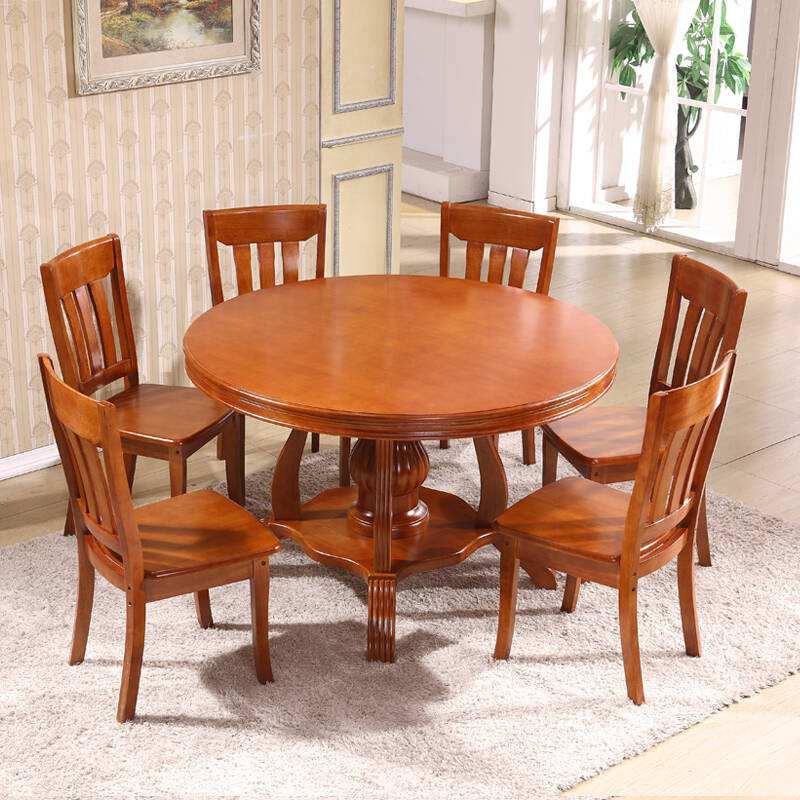 圆形餐桌尺寸多大?圆形餐桌如何选购