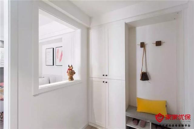 两室两厅北欧风装修案例,书房隔断非常巧妙