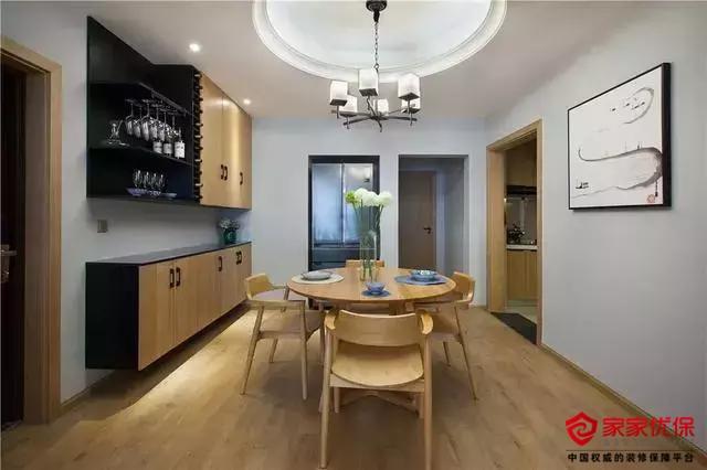 现代简约风格装修案例,客厅茶室倍感舒适