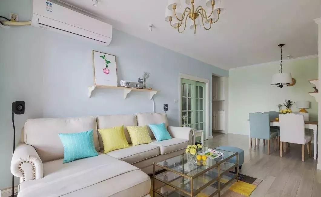 简约清新美式风格装修案例,一个有格调的家