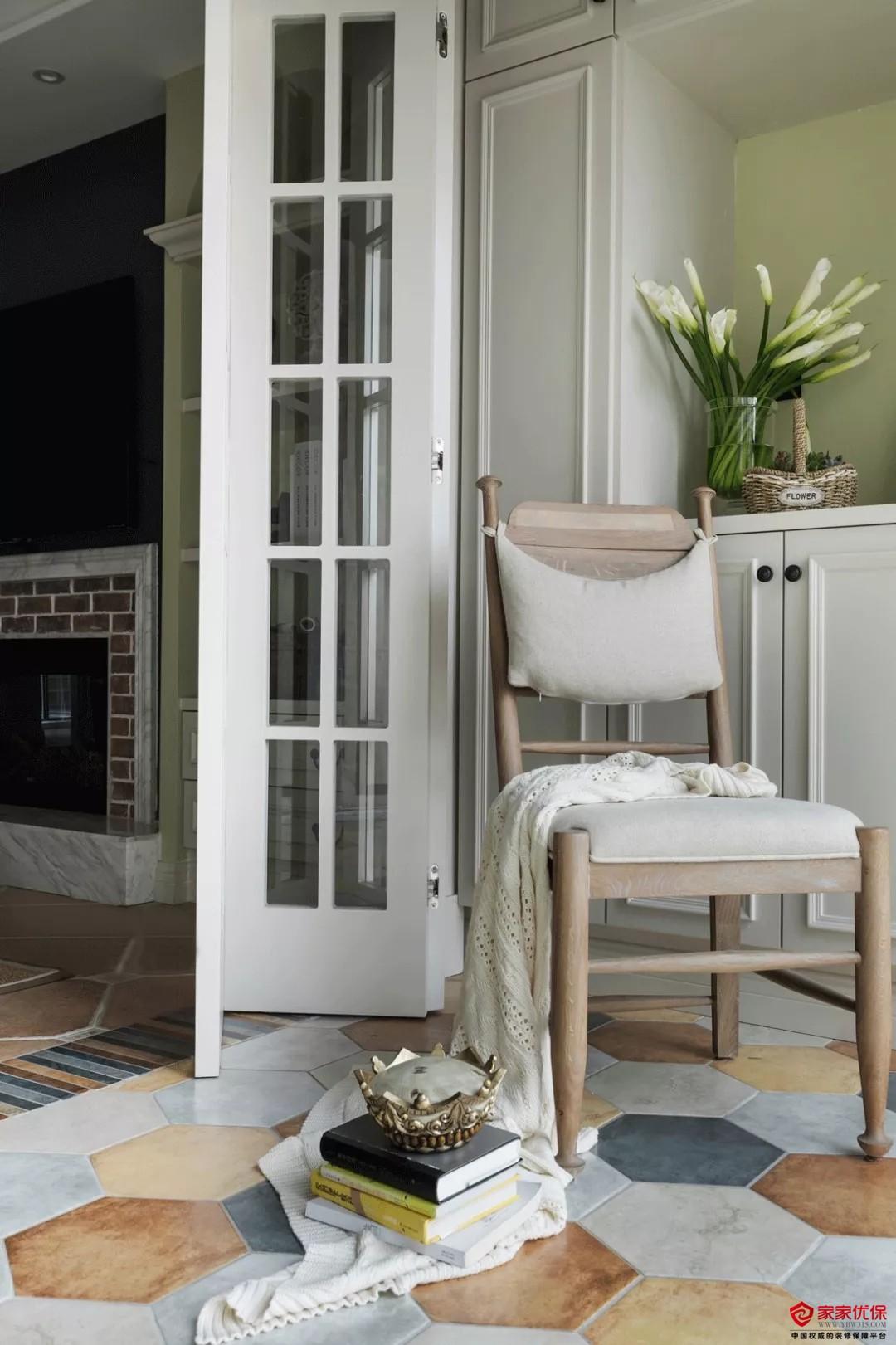 130平美式风格装修案例,打造理想中的温馨之家