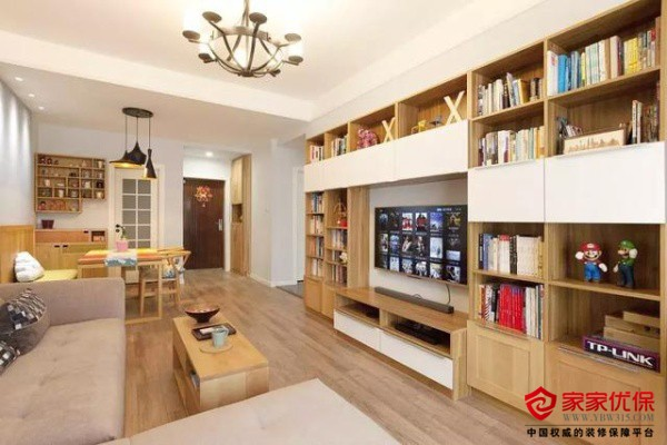 小户型如何实现客厅书房一体化设计?
