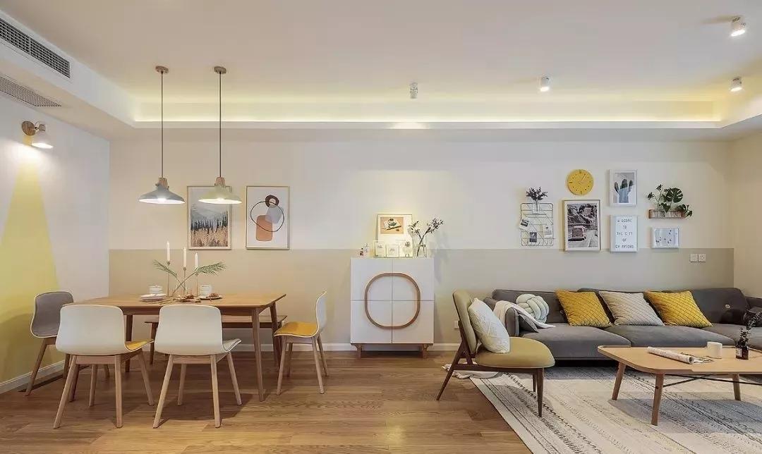 小户型北欧风格设计图片赏析,提升空间颜值的暖色调搭配