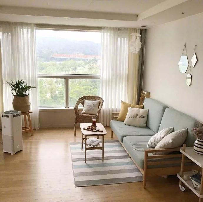 日式两居室装修效果图,还原本质的设计