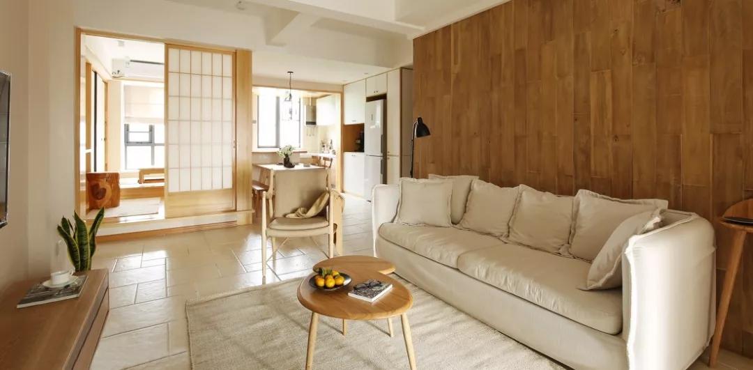 简约舒适的日式装修风格案例,温馨干净