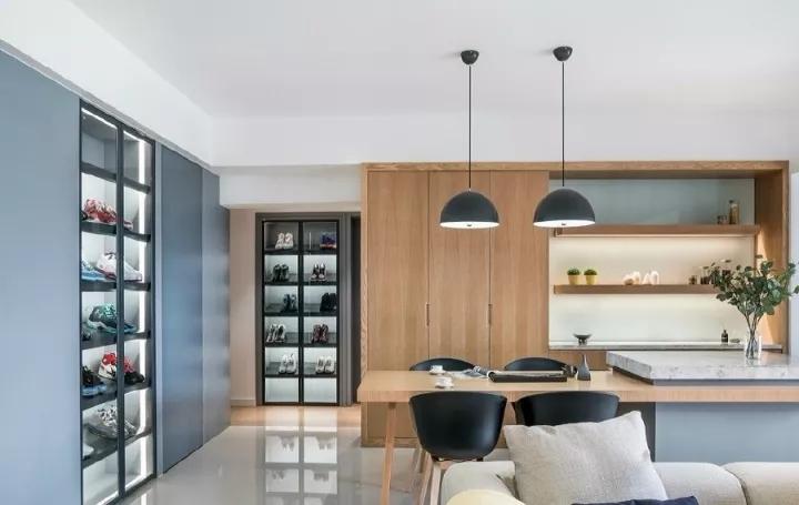 极简风格装修案例,简约又不失单调的居室
