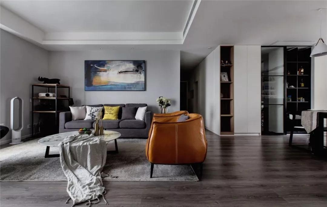 简约风格设计案例赏析,四居改三居空间大一倍