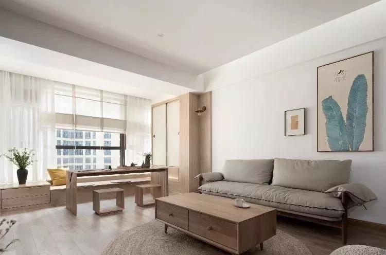 130平混搭风格装修案例,阳台设计成禅意茶室