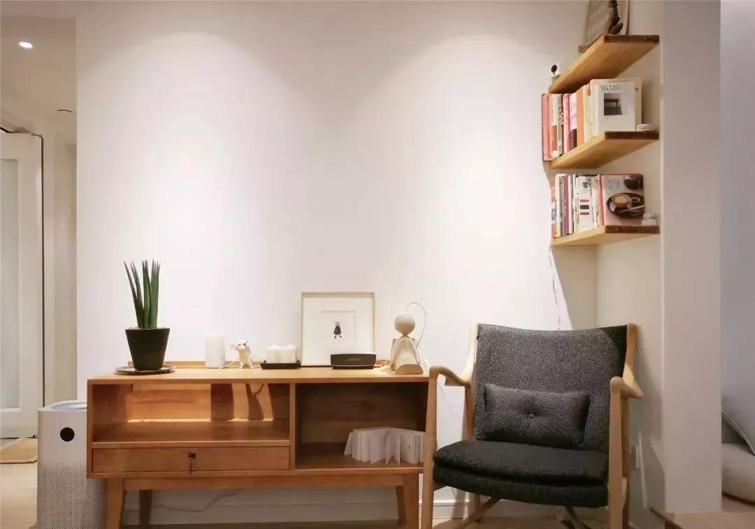 北欧风格公寓设计案例,嵌入式设计让空间更宽敞